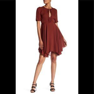 A.L.C sosta silk A-line dress